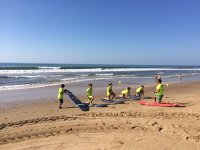 Apprendimento del surf a Central Beach