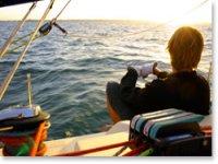 帆船课程浏览到您的空气