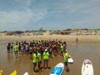 Dia de deportes nauticos en Isla Cristina