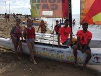 Curso de catamaran en Huelva