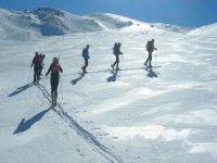 Esqui de fondo en el Veleta