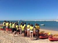 Alquiler de kayak monoplaza en Sancti Petri 1h