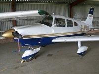 Our plane PA28 180