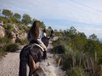 Montar a caballo en Moratalla