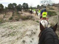 Ruta por Moratalla en caballo