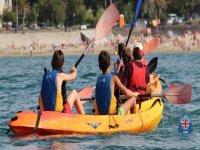 Compartiendo canoa