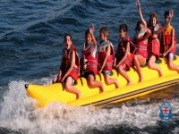 On the banana boat