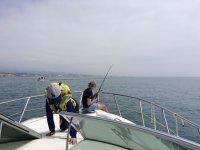 Sessione di pesca
