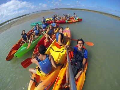 Excursión en kayak al Castillo de Sancti Petri