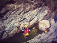 Salto interior del barranco Calzadillas