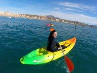 Cursos de kayaks en Alicante