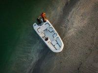 Embarcacion vista desde arriba