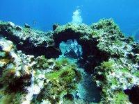 潜水海底地层