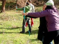 Archery with adults