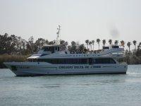 Barca nel Delta dell'Ebro