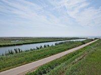 Camino en el Delta del Ebro