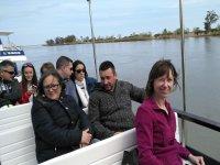 Passeggiando lungo il canale dell'Ebro