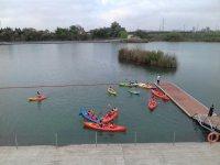 Juegos en kayak en Sevilla