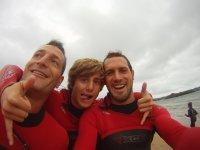 Instructores profesionales de surf