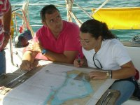 Learn the maritime cartography
