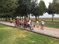 Urban camp in seville