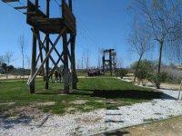 Zip-line park