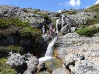 Trekking through the Palencia mountain