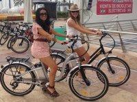 despedida de soltera en bicicleta