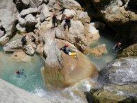 溪降课程登山运动