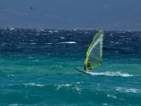 Learning to practice windsurfing