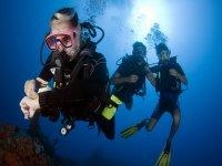 Todo ok bajo el mar
