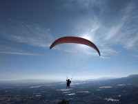 Paragliding in the Murcian valley
