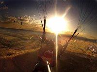 Volare con altri parapendio