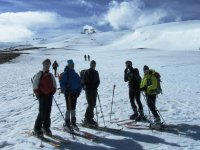 Practice mountain skiing with us