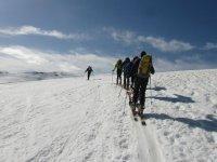 Routes in ski touring