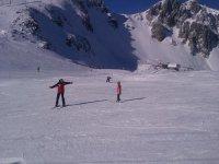 路径滑雪学习滑雪