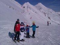全家各级滑雪场滑雪