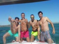 viviendo el verano gaditano con amigos