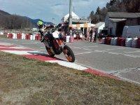 Pista para las motos