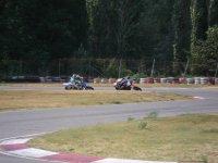 Tomando las curvas con la moto