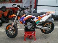 Una de nuestras motos