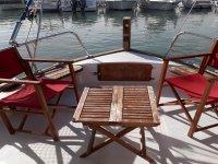 经典游船的休闲区
