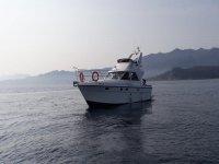 Barca al tramonto Asturie