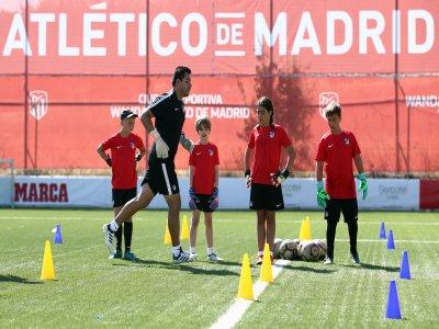 Vaughan Atlético de Madrid