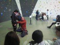 学生和老师practicando.JPG最大的安全性在我们所有的练习