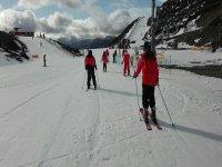 Esquiando en Leon