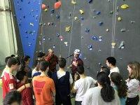 教授登山绳准备孩子课前准备练习