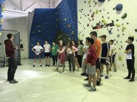 Children climbing classes