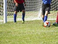 A punto de marcar gol