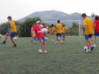 En los entrenamientos